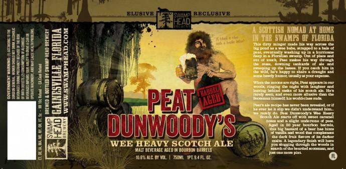 Swamp Head Peat Dunwoody's Wee Heavy Scotch Ale