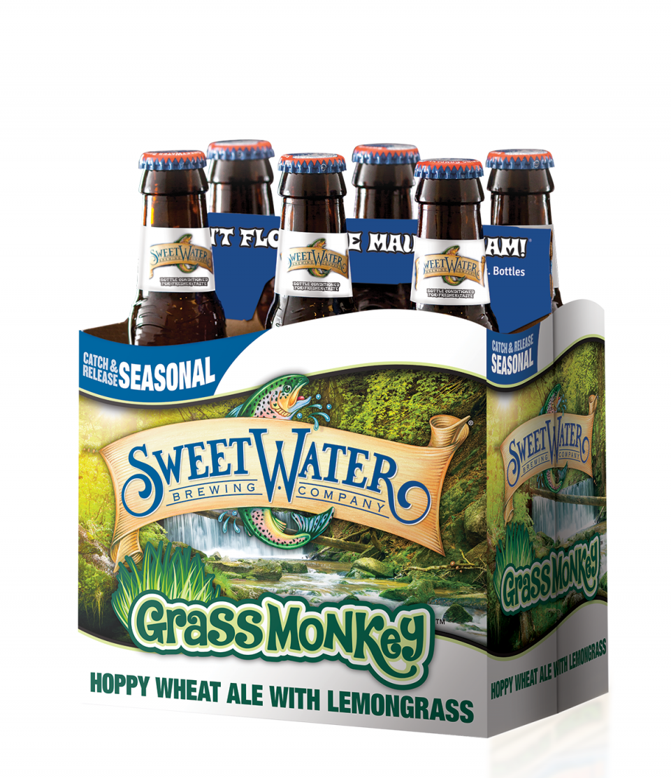 SweetWater Grass Monkey 6pack
