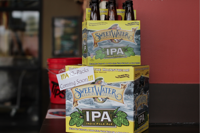 SweetWater IPA 12s