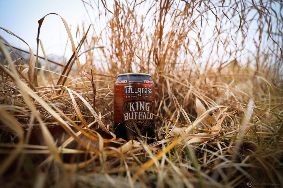 Tallgrass King Buffalo Imperial Stout can