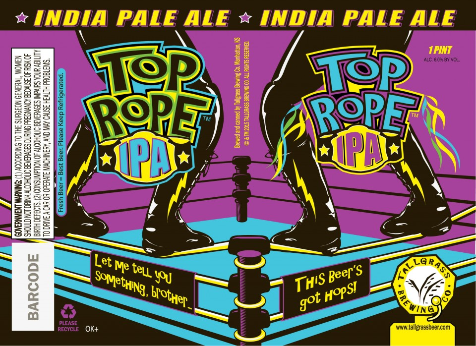 Tallgrass Top Rope IPA