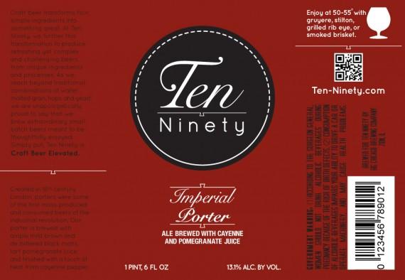 Ten Ninety Imperial Porter