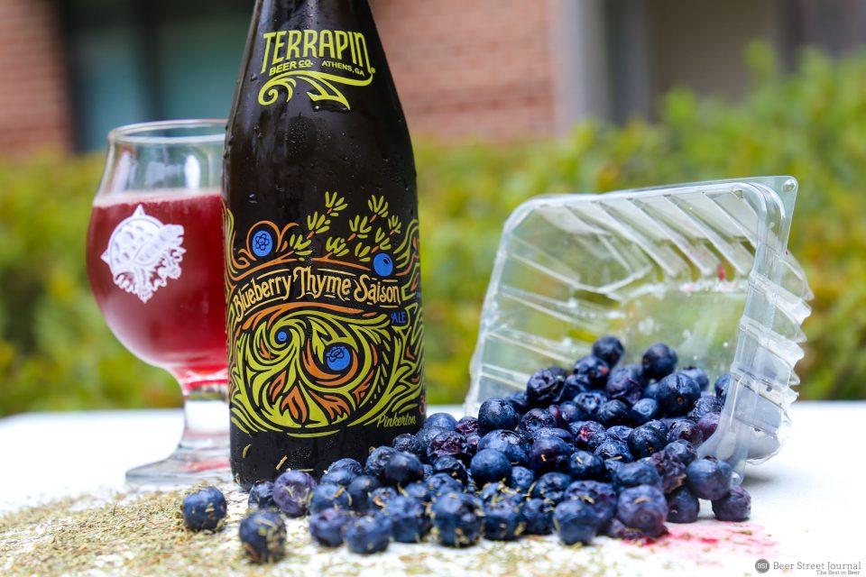 Terrapin Blueberry Thyme Saison bottle
