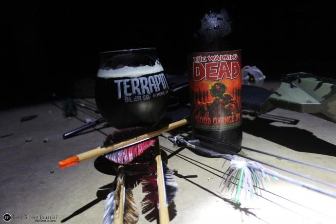 Terrapin The Walking Dead Blood