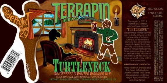 Terrapin Turtleneck Gingerbread WInter Warmer