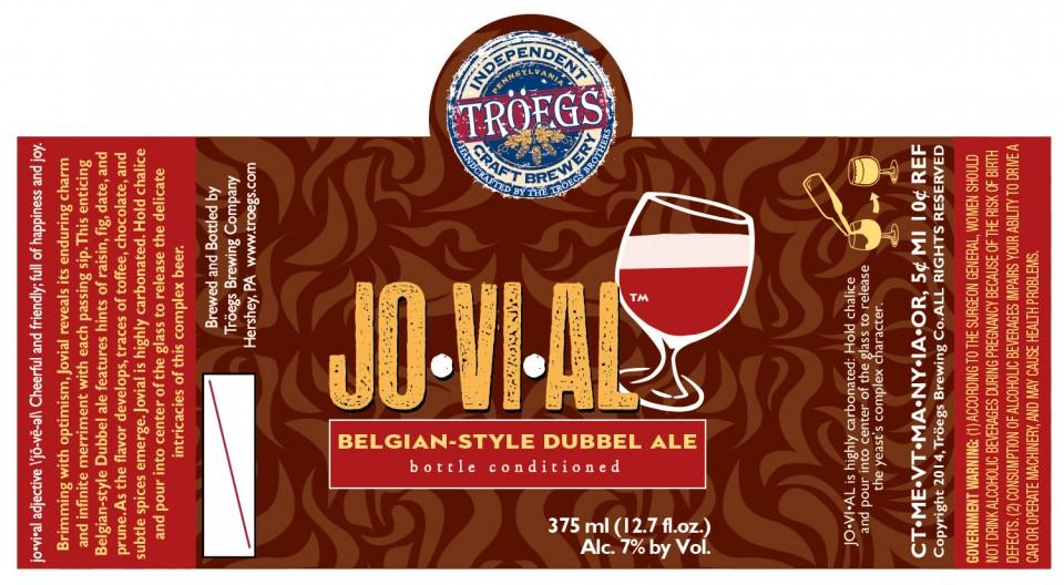 Troegs Jovial Belgian Style Dubbel