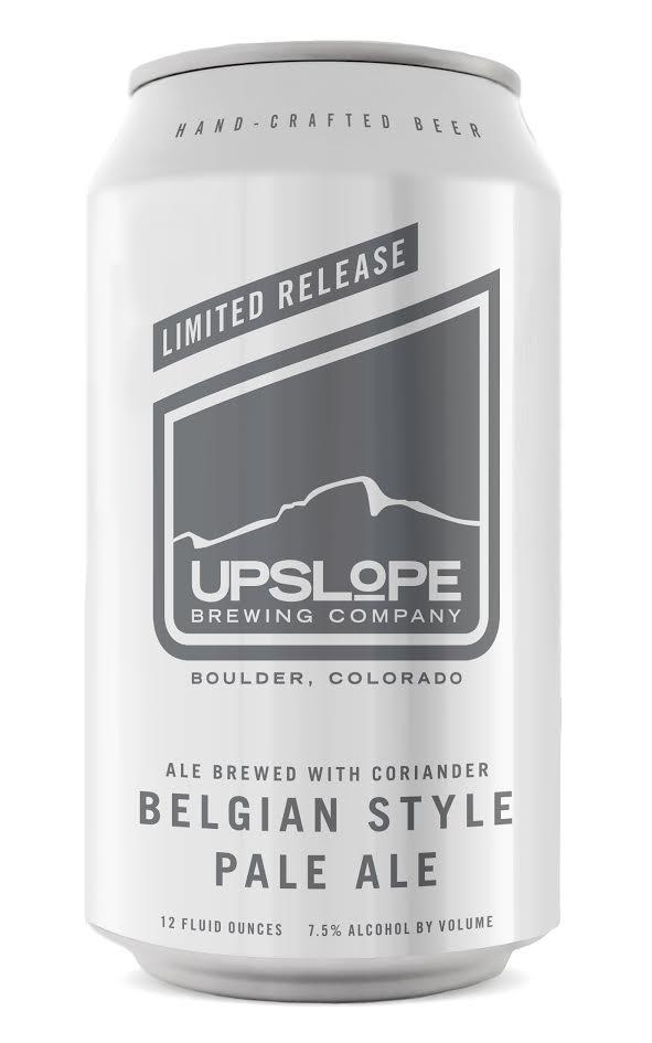 Upslope Belgian Style Pale Ale