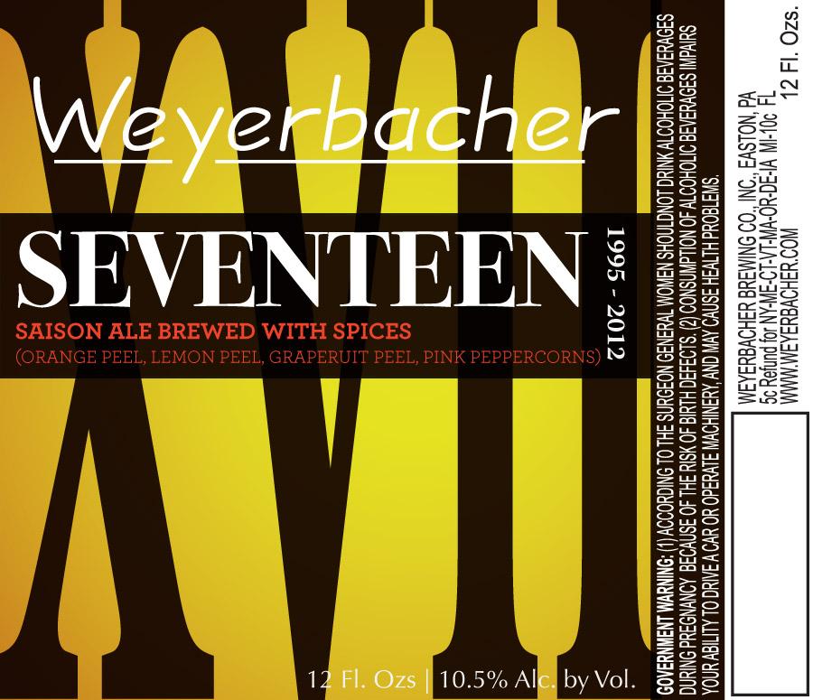 Weyerbacher Seventeen Saison Ale