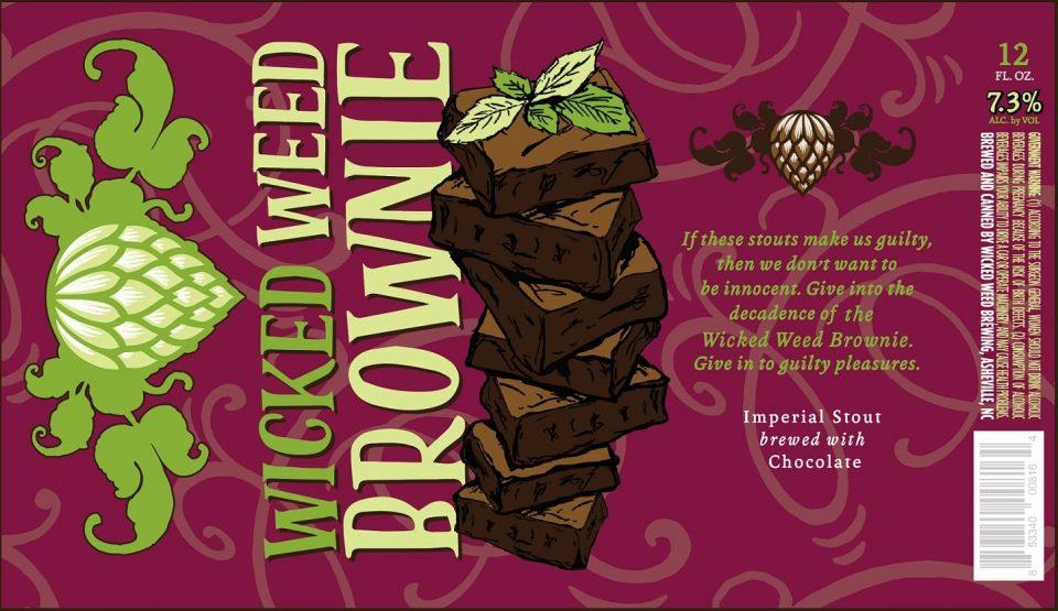 Wicked Weed Brownie