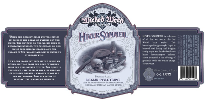 Wicked Weed Hiver Sommeil