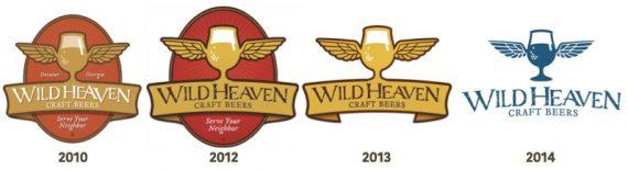 Wild Heaven Brand Evolution