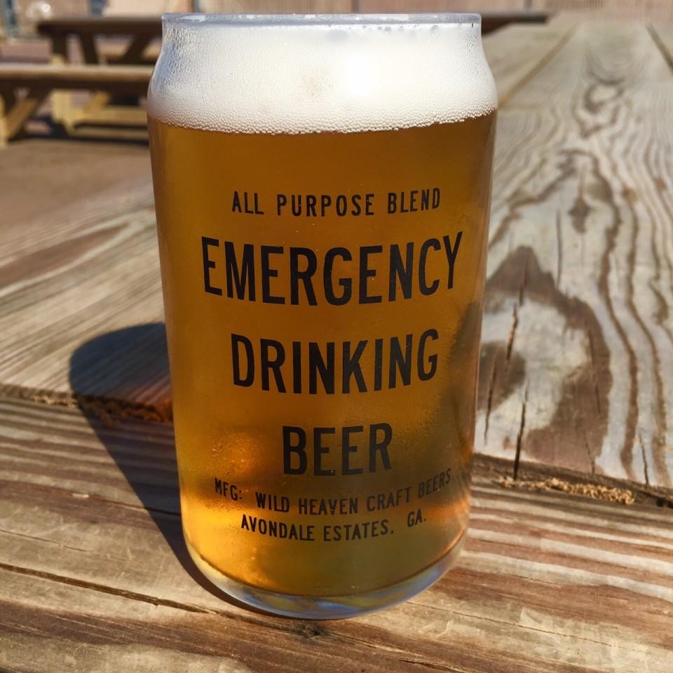 Wild Heaven Emergency Drinking Glass