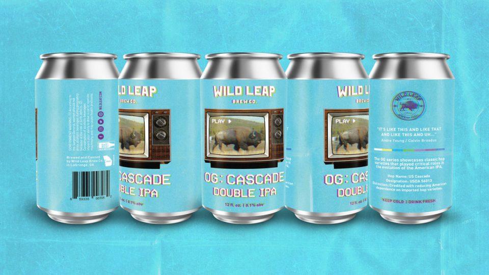 Wild Leap OG Cascade Double IPA