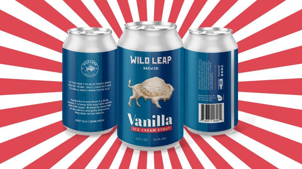 Wild Leap Vanilla Ice Cream Stout