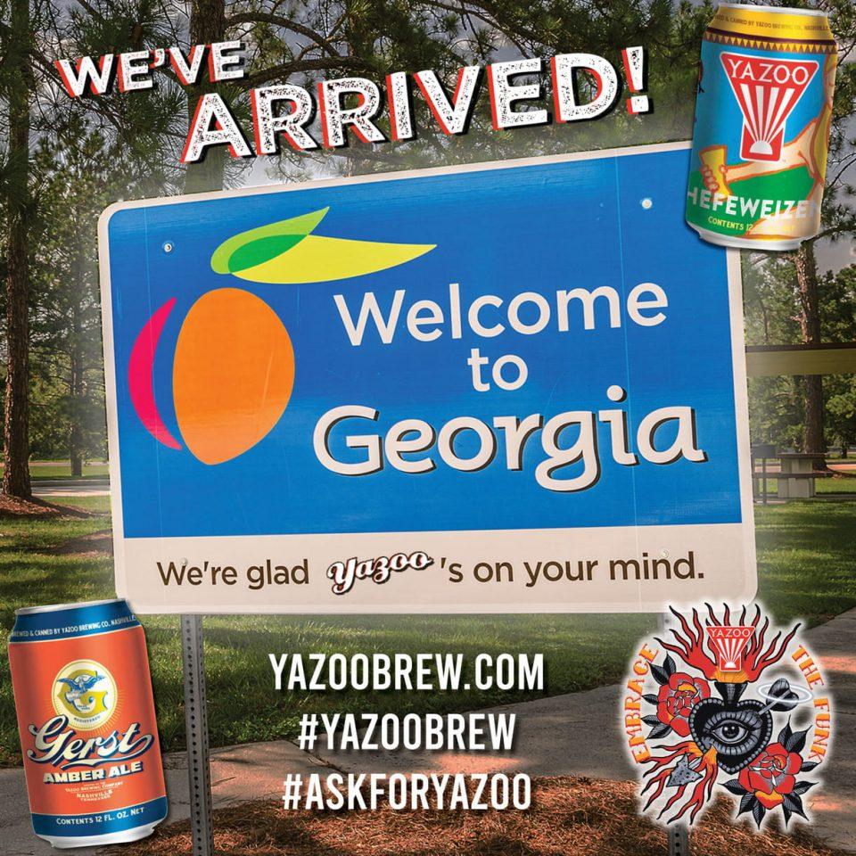 Yazoo Brewing Georgia Launch